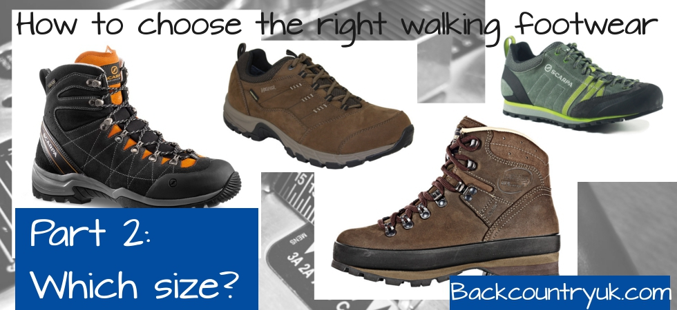 How to choose walking footwear: 2